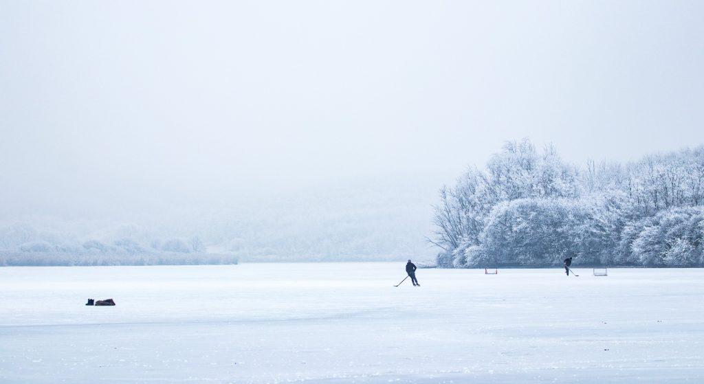ice hockey Travnica, Slovakia, 2017