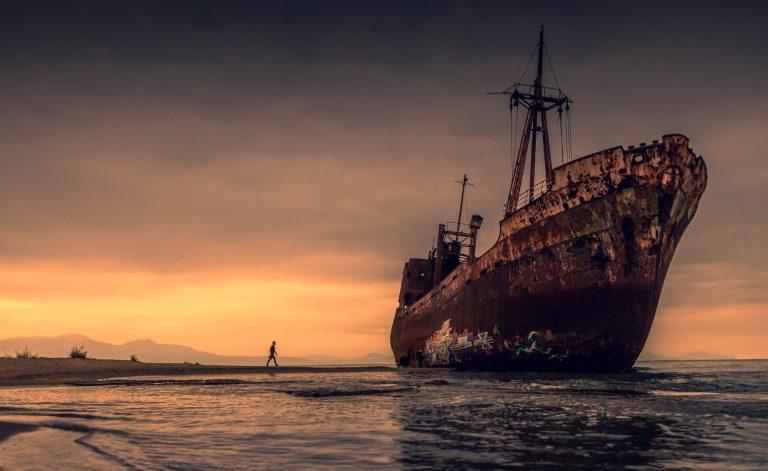 Grece 2017 Shipwrack
